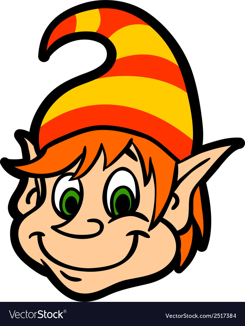 Face gnome vector | Price: 1 Credit (USD $1)