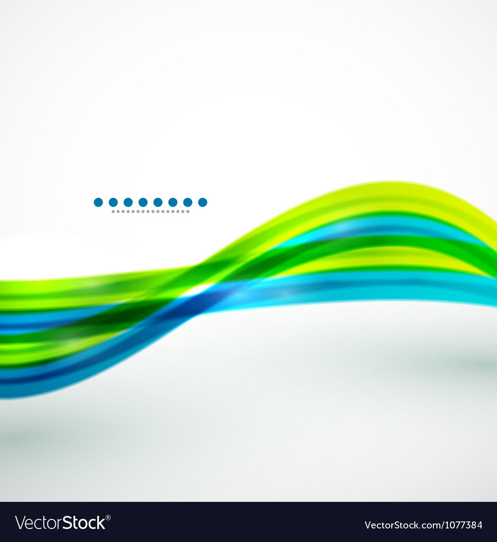 Flowing lines abstract background vector   Price: 1 Credit (USD $1)