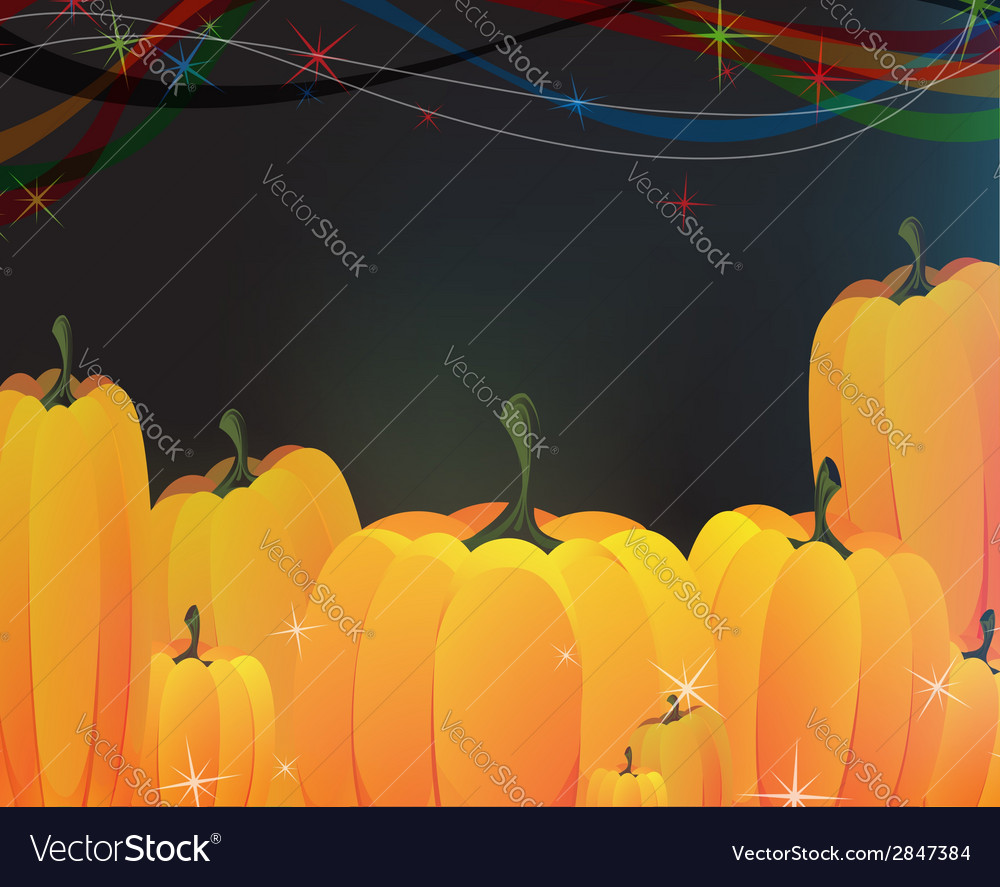 Heap of ripe pumpkins vector | Price: 1 Credit (USD $1)