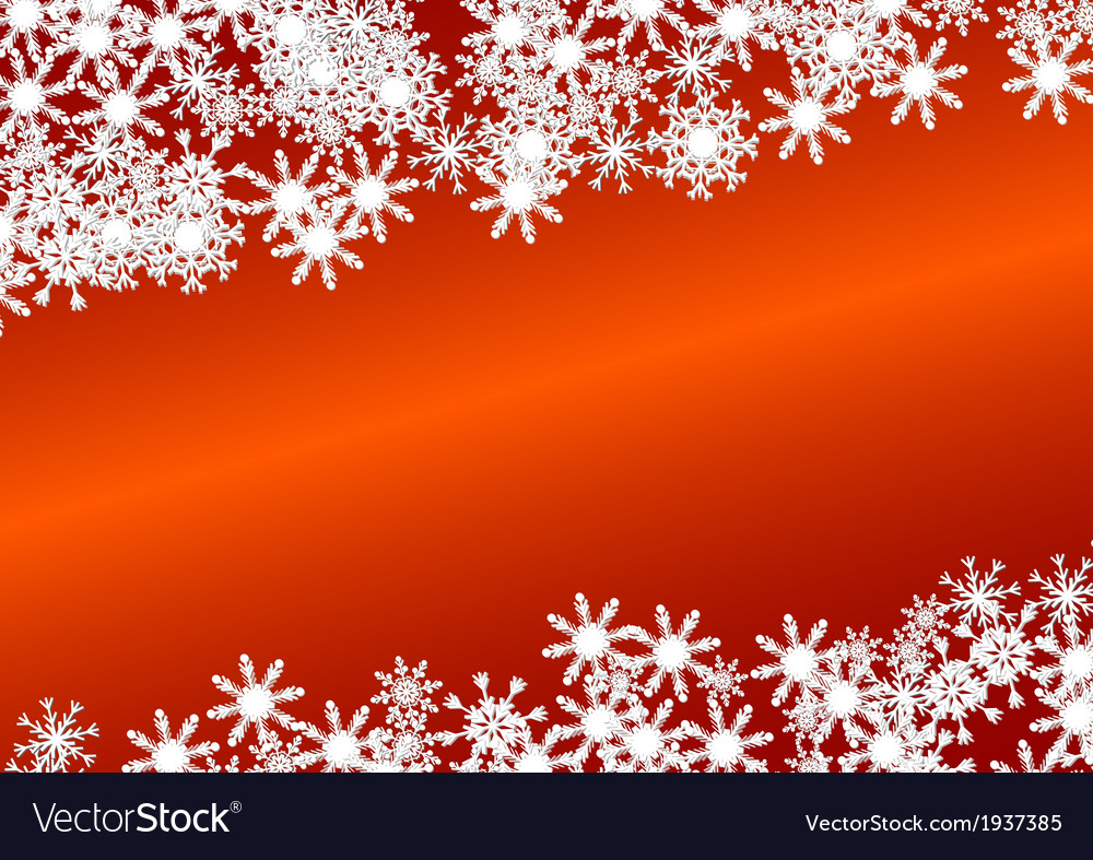 Christmas background on red vector | Price: 1 Credit (USD $1)