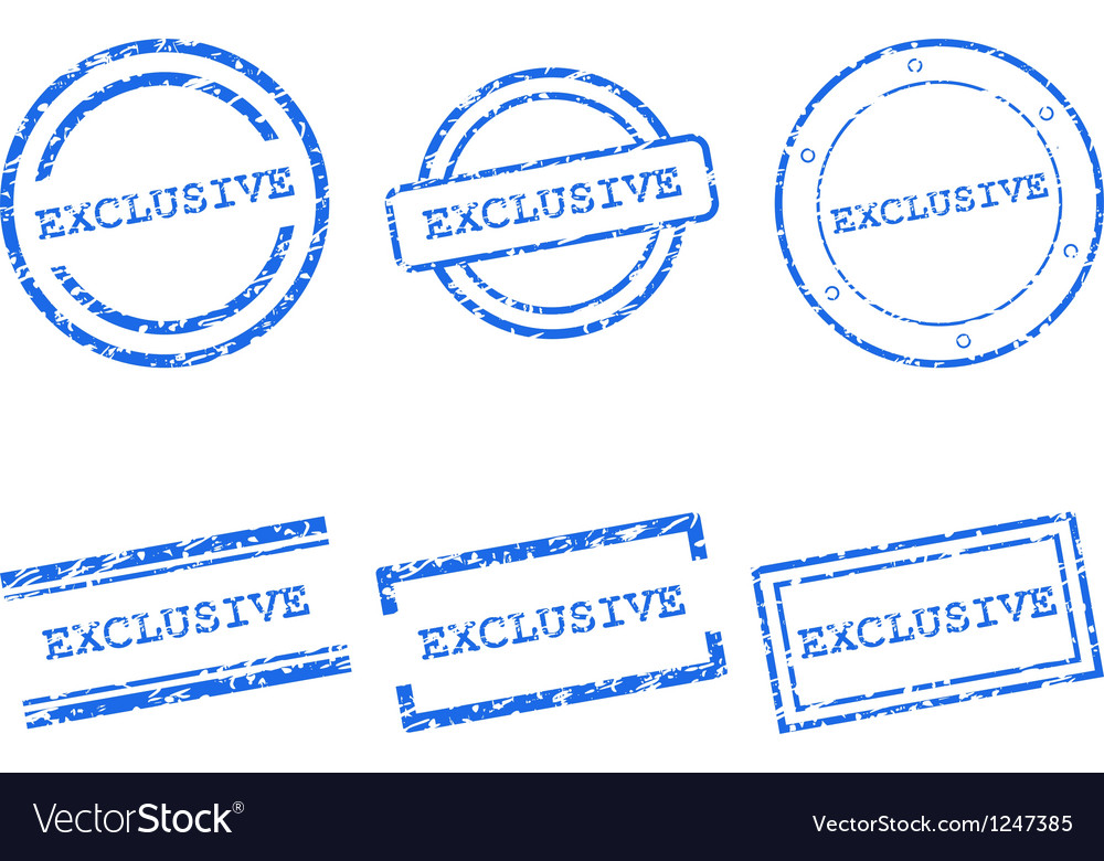Exclusive stamps vector | Price: 1 Credit (USD $1)