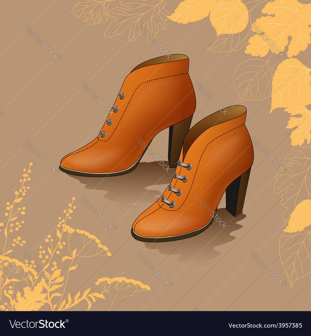 Footwear vector | Price: 3 Credit (USD $3)