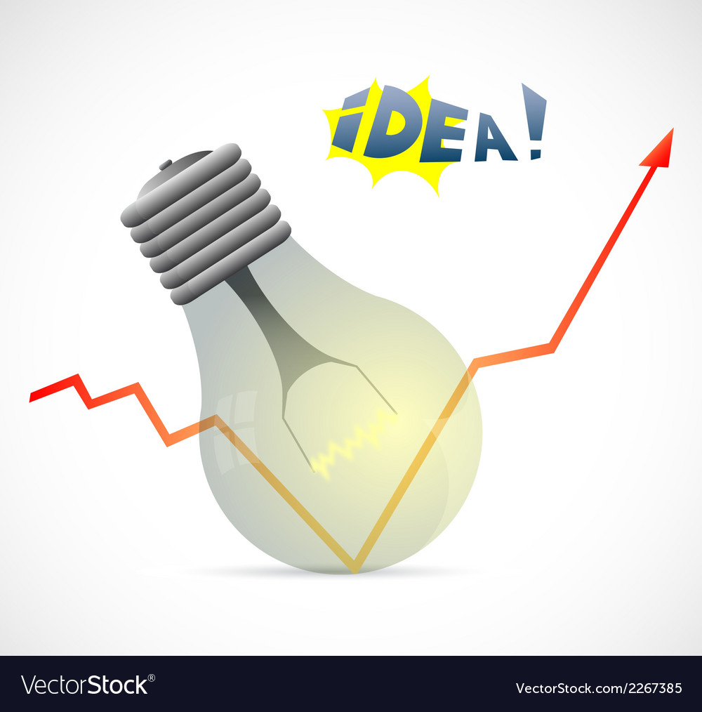 New idea design vector | Price: 1 Credit (USD $1)
