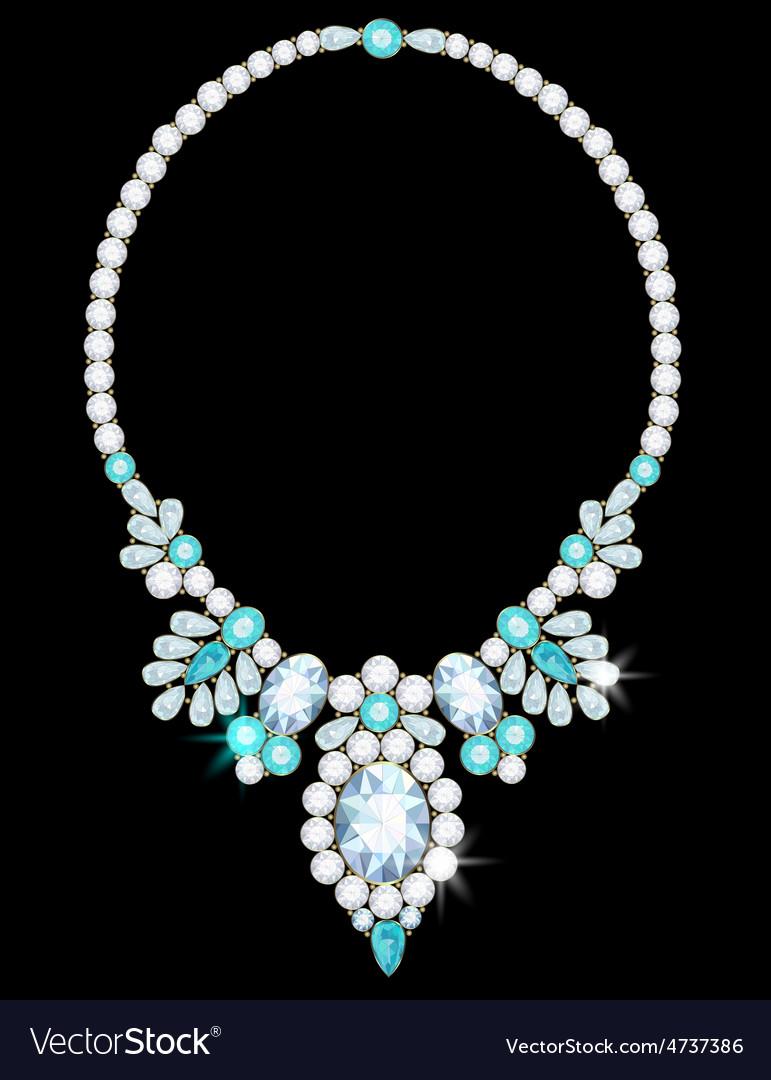 Necklace vector | Price: 1 Credit (USD $1)