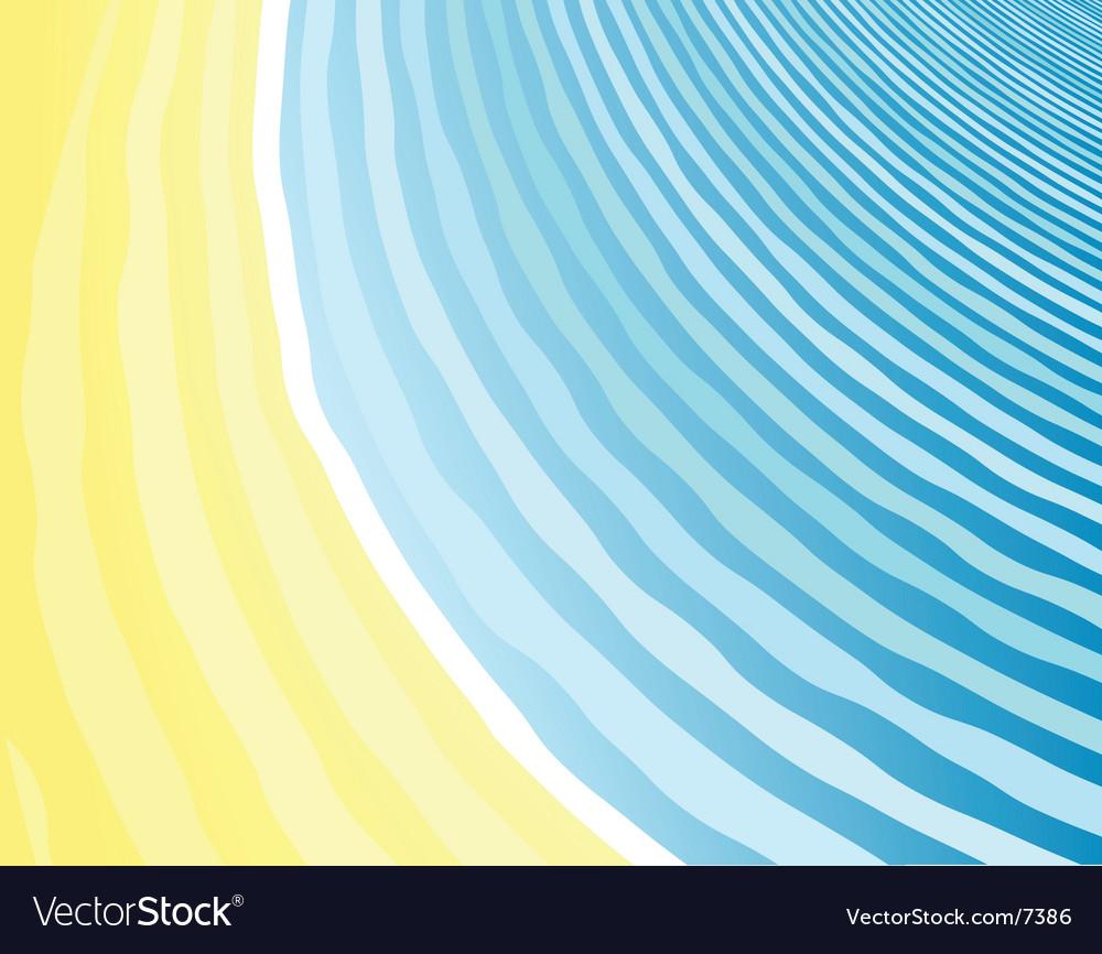 Seaside background vector | Price: 1 Credit (USD $1)