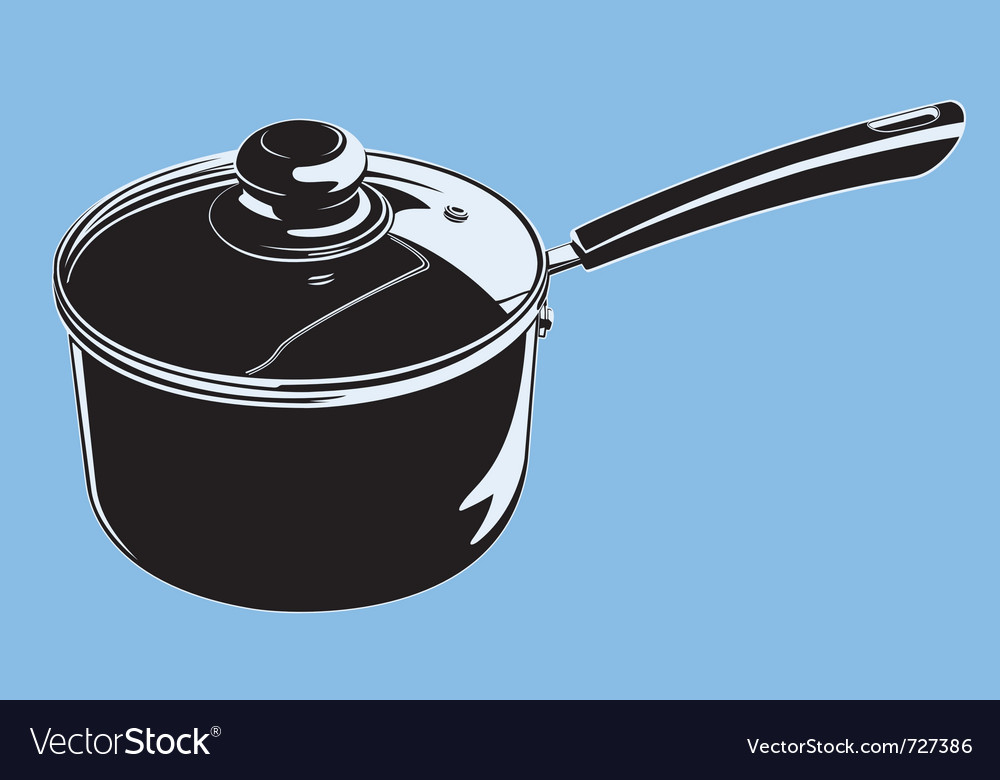 Stove pot vector | Price: 1 Credit (USD $1)