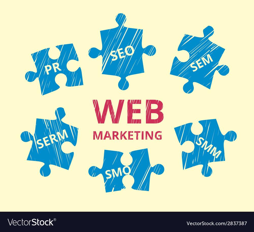 Web marketing vector | Price: 1 Credit (USD $1)