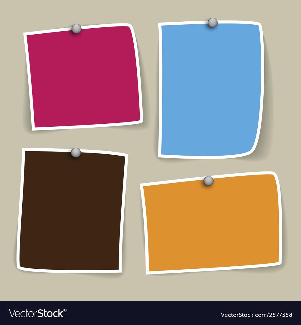 Colored paper designs vector   Price: 1 Credit (USD $1)