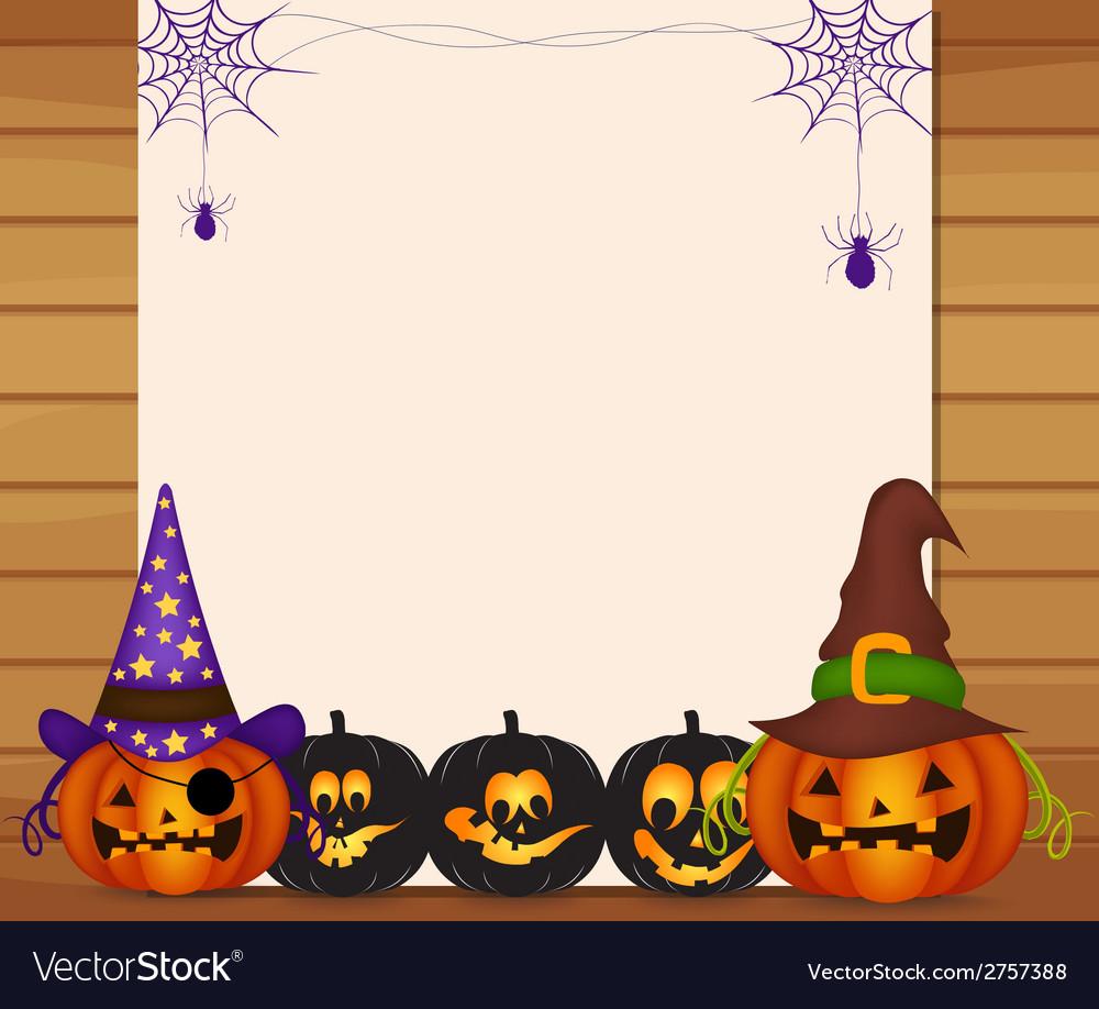 Halloween parchment vector | Price: 1 Credit (USD $1)