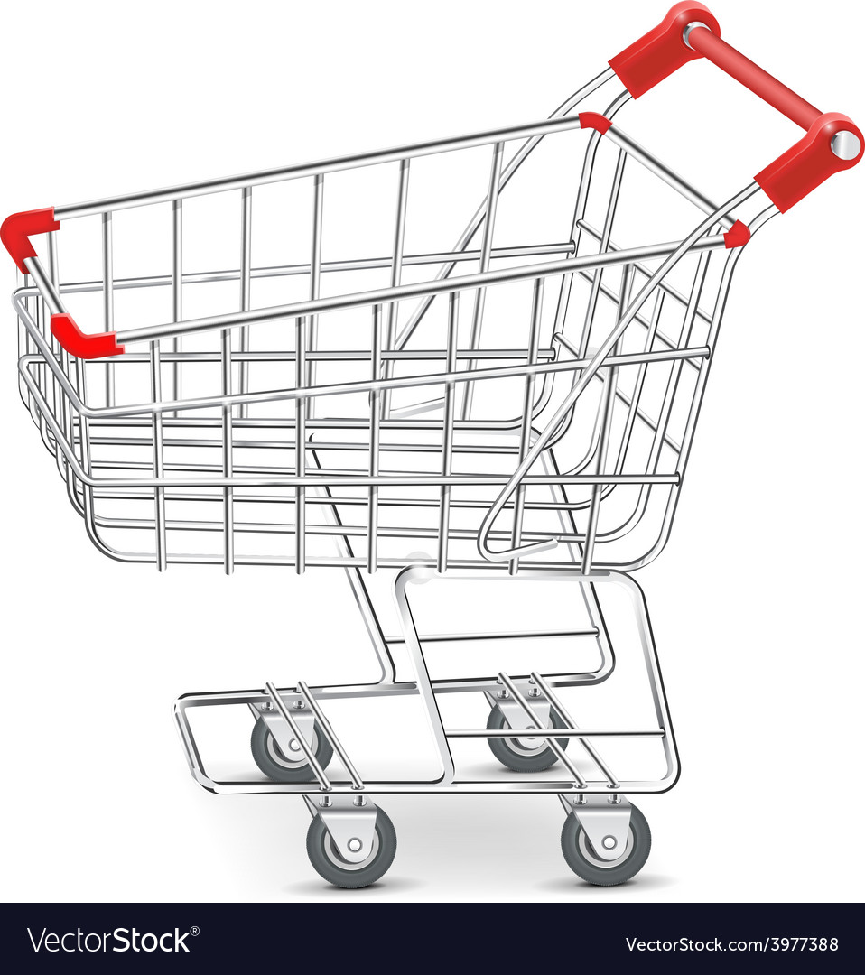 Shopping supermarket cart vector | Price: 3 Credit (USD $3)