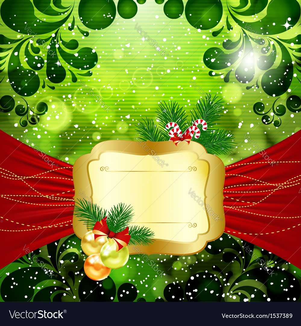 Christmas bright background vector | Price: 1 Credit (USD $1)