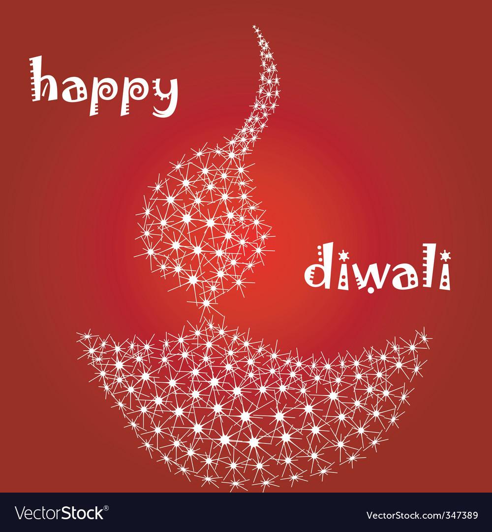 Diwali diva vector | Price: 1 Credit (USD $1)