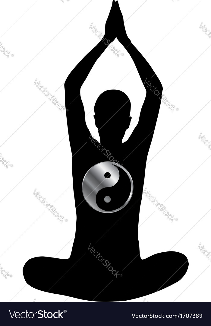 Meditation logo vector | Price: 1 Credit (USD $1)