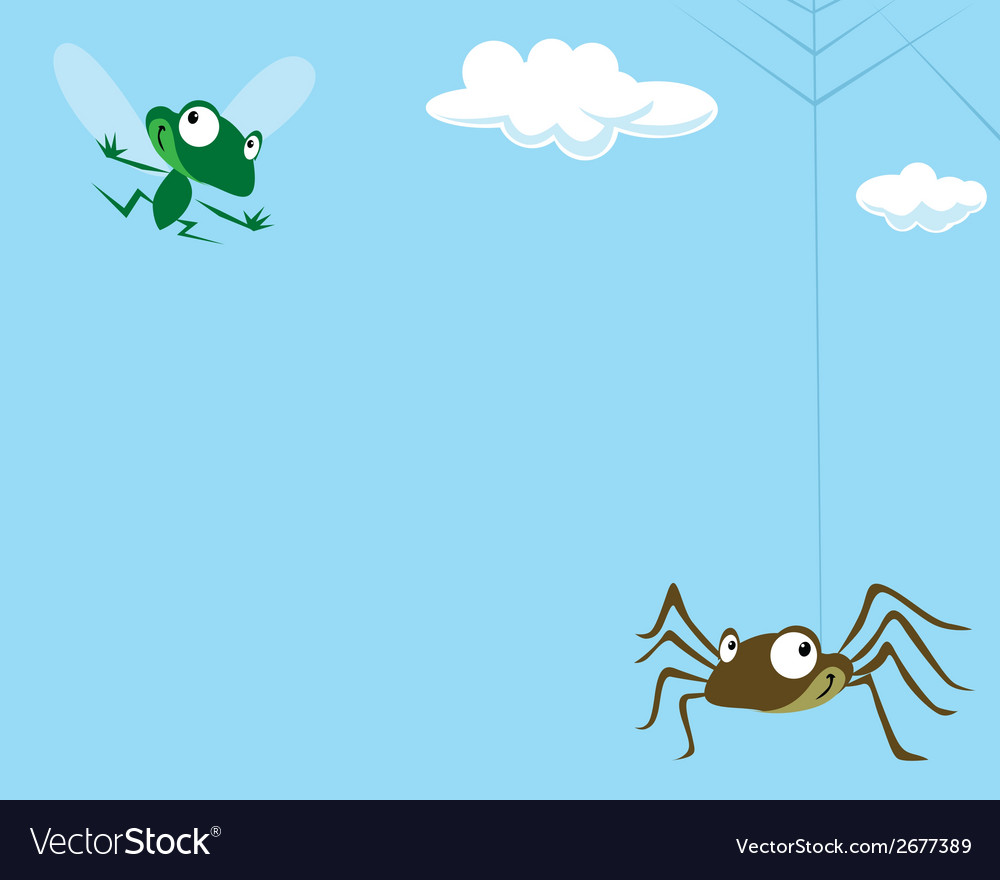 Spider and the fly vector | Price: 1 Credit (USD $1)