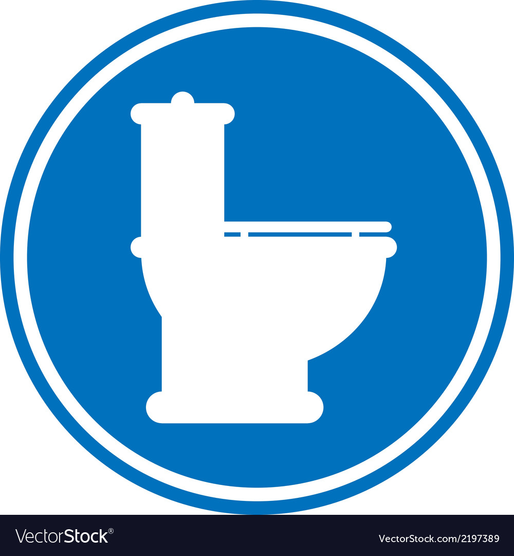 Toilet icon vector | Price: 1 Credit (USD $1)