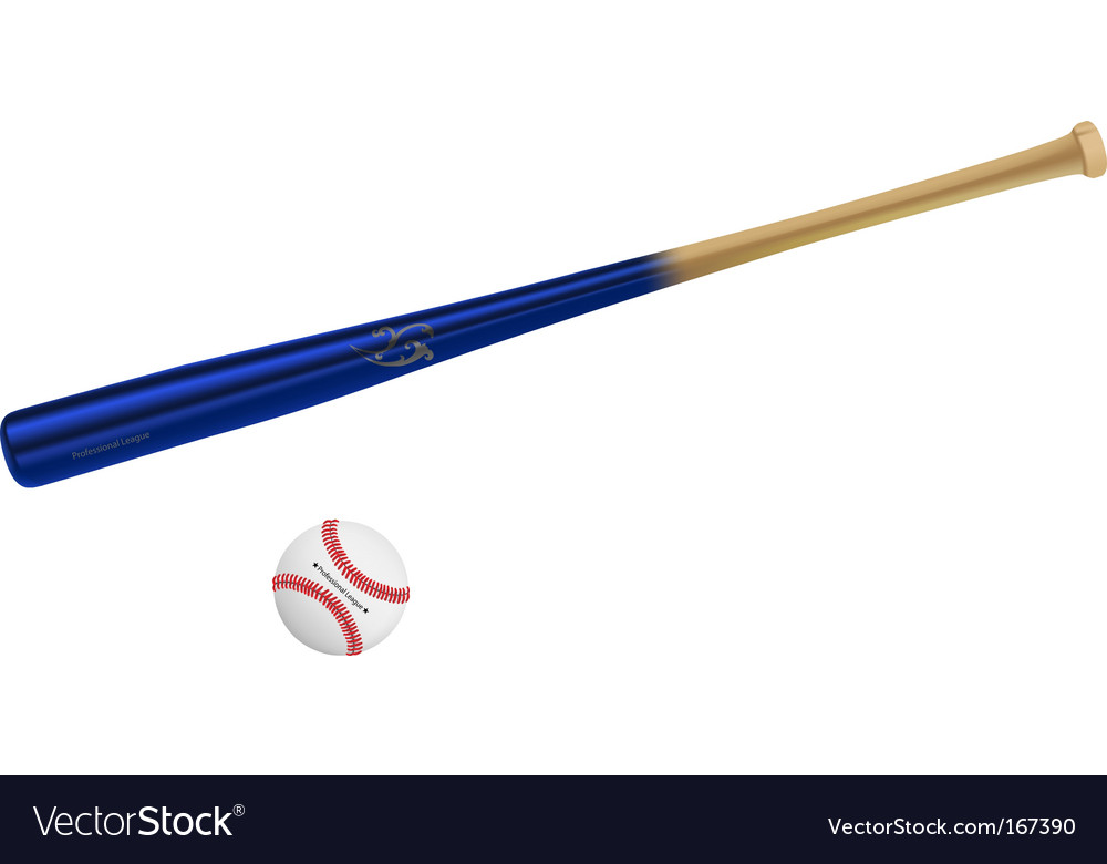 Baseball equipment vector | Price: 1 Credit (USD $1)