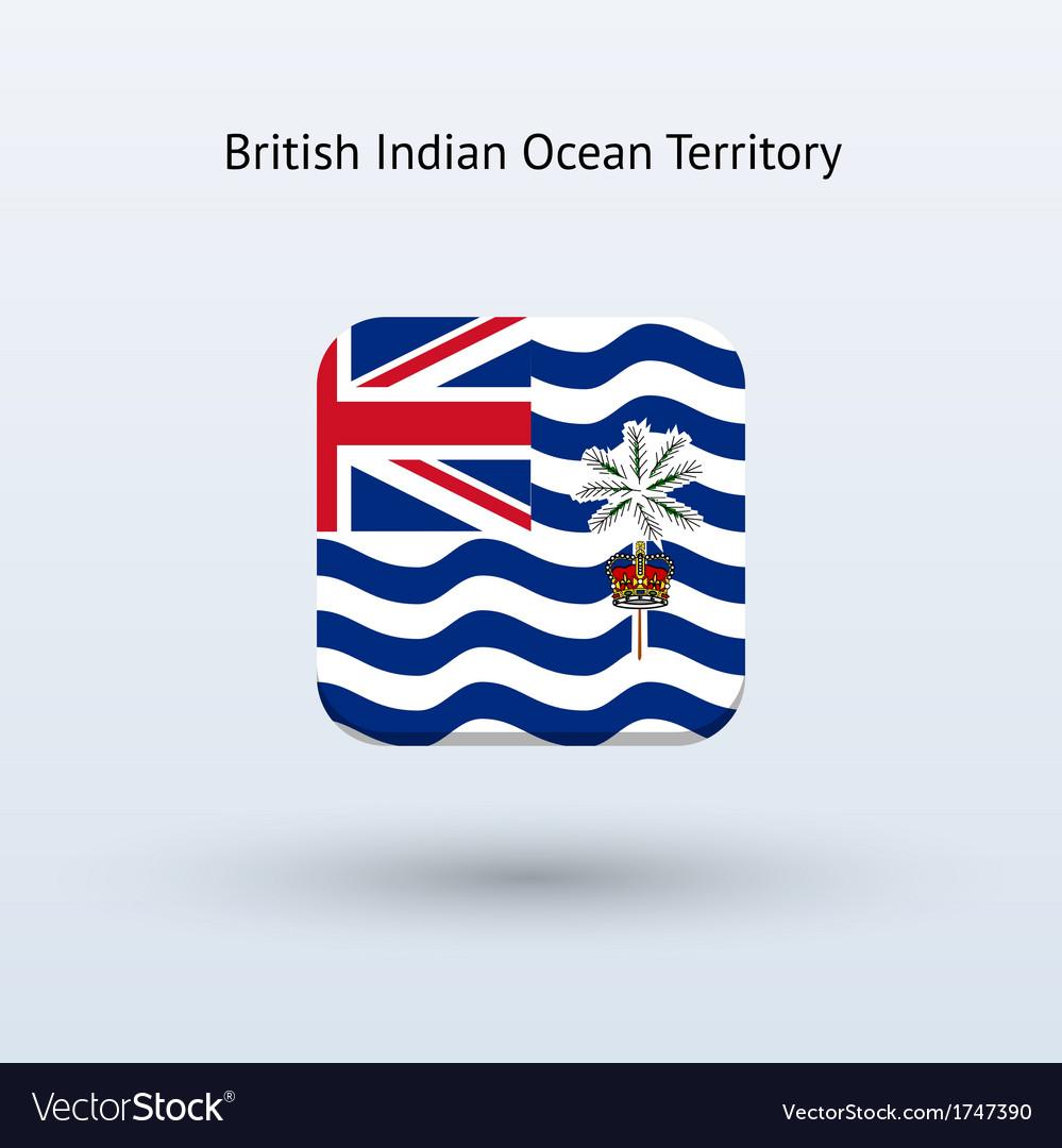 British indian ocean territory flag icon vector | Price: 1 Credit (USD $1)