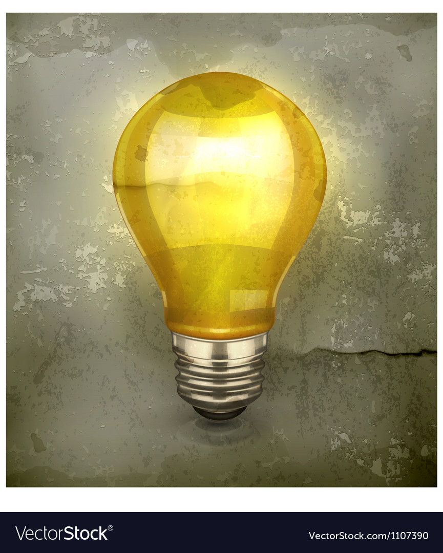 Lamp old-style vector | Price: 3 Credit (USD $3)