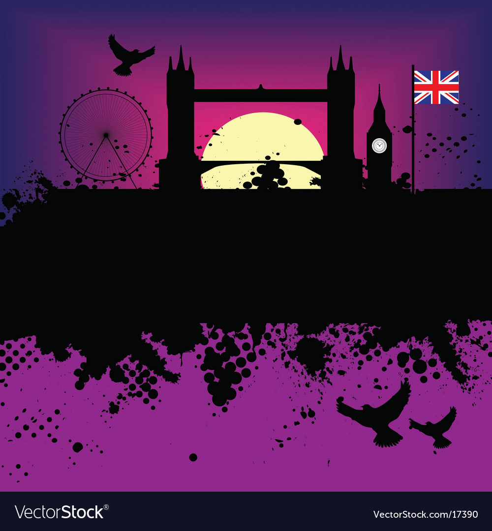 London landscape vector | Price: 1 Credit (USD $1)