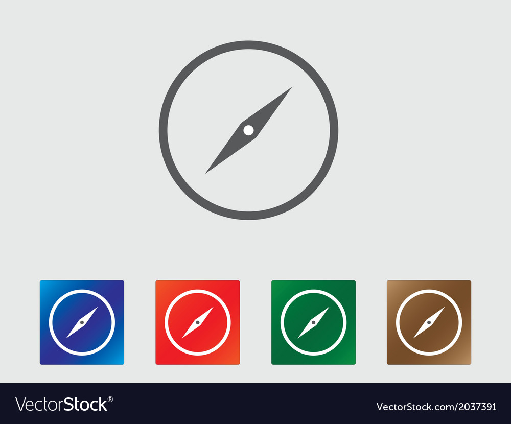 Compass icons vector   Price: 1 Credit (USD $1)