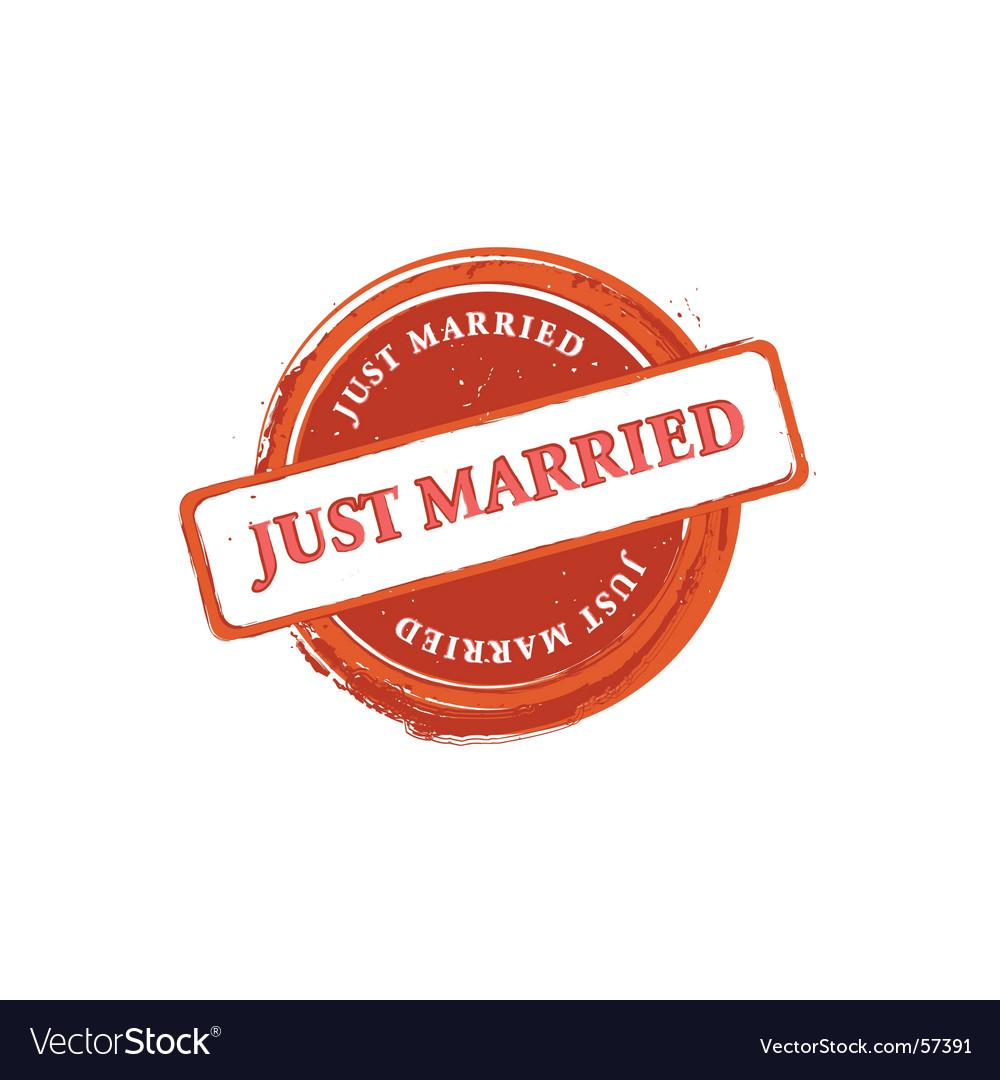 Wedding stamp vector | Price: 1 Credit (USD $1)