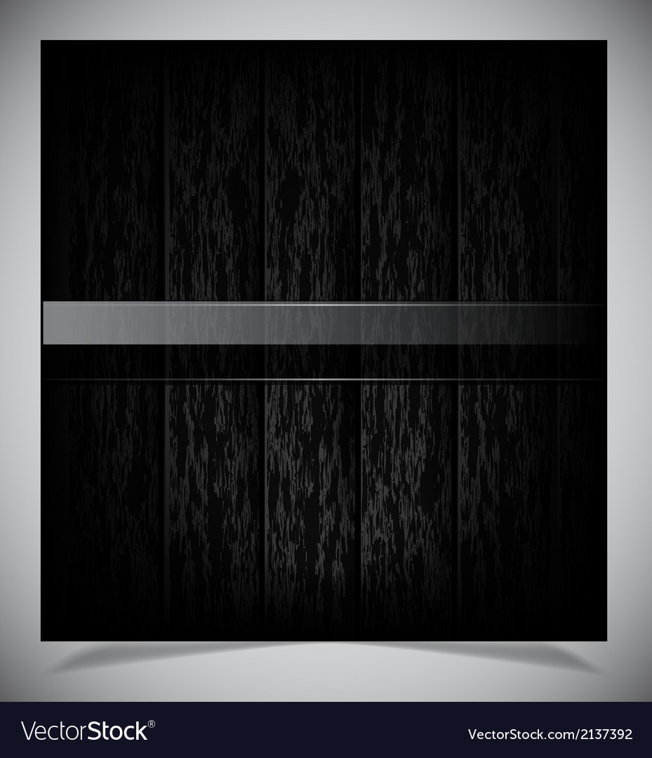 Abstract dark wood background vector | Price: 1 Credit (USD $1)