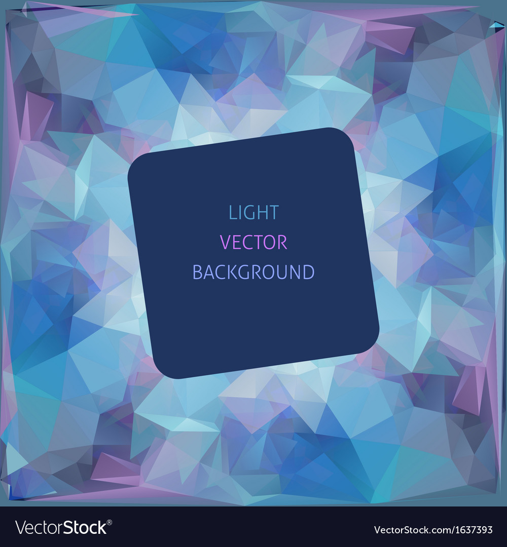 Abstract geometric triangular background vector | Price: 1 Credit (USD $1)