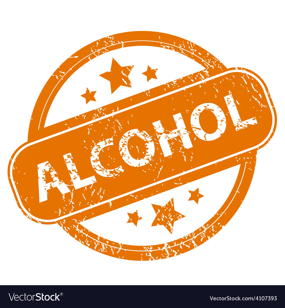 Alcohol grunge icon vector | Price: 1 Credit (USD $1)