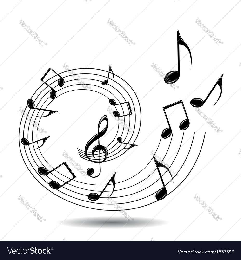 Musical theme background vector | Price: 1 Credit (USD $1)