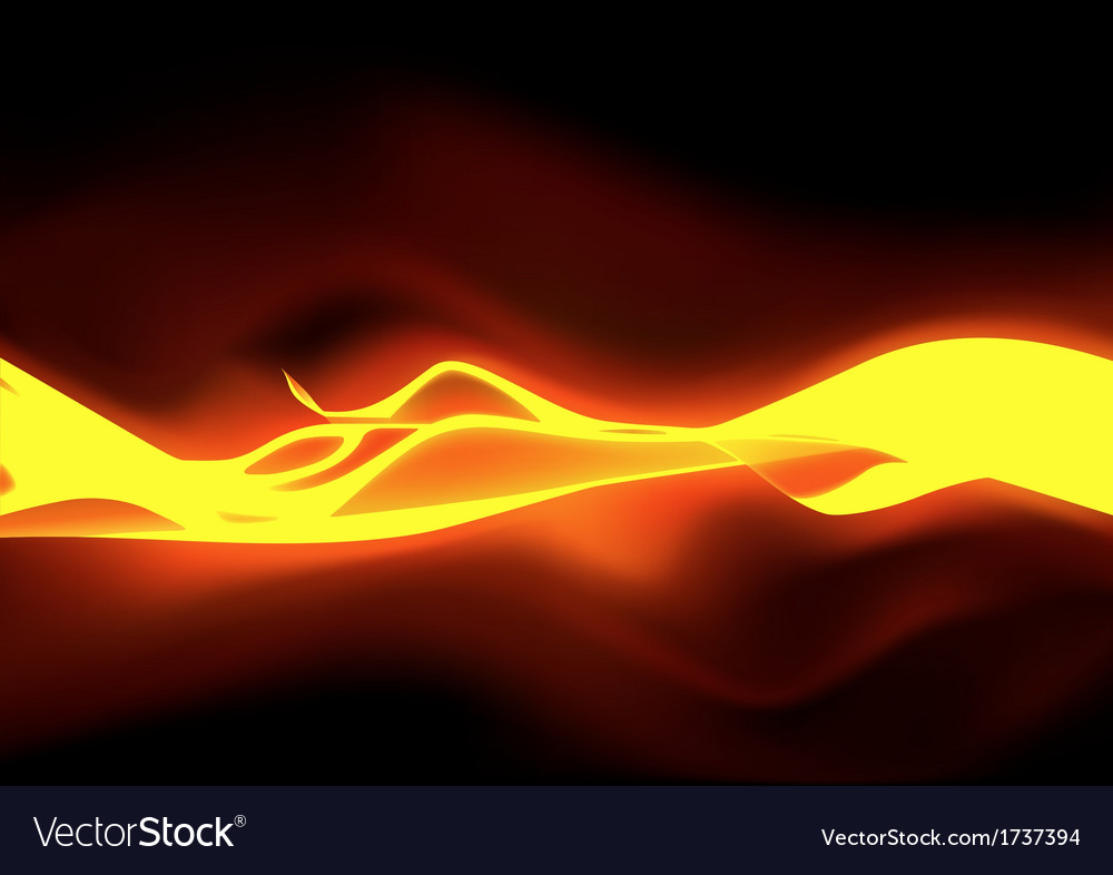 Fiery flames vector | Price: 1 Credit (USD $1)