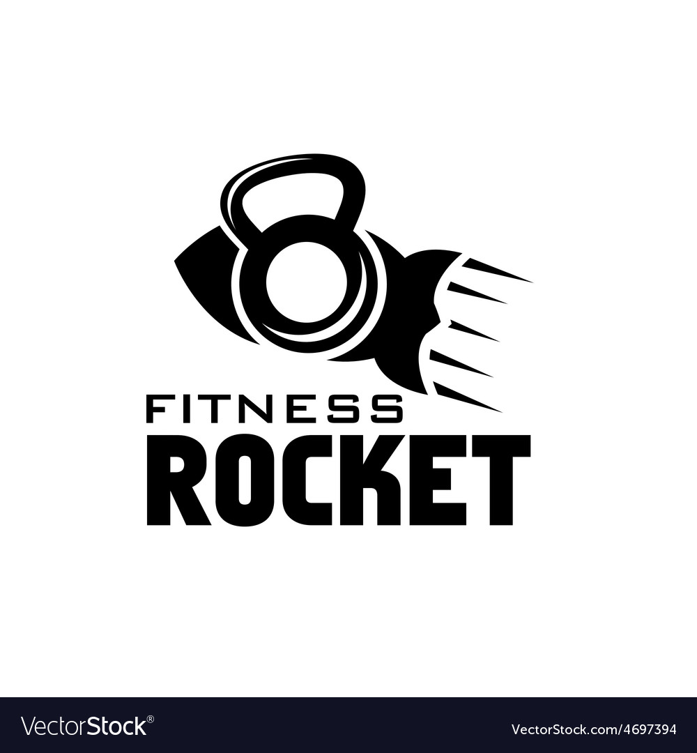 Rocket fitness concept vector | Price: 1 Credit (USD $1)