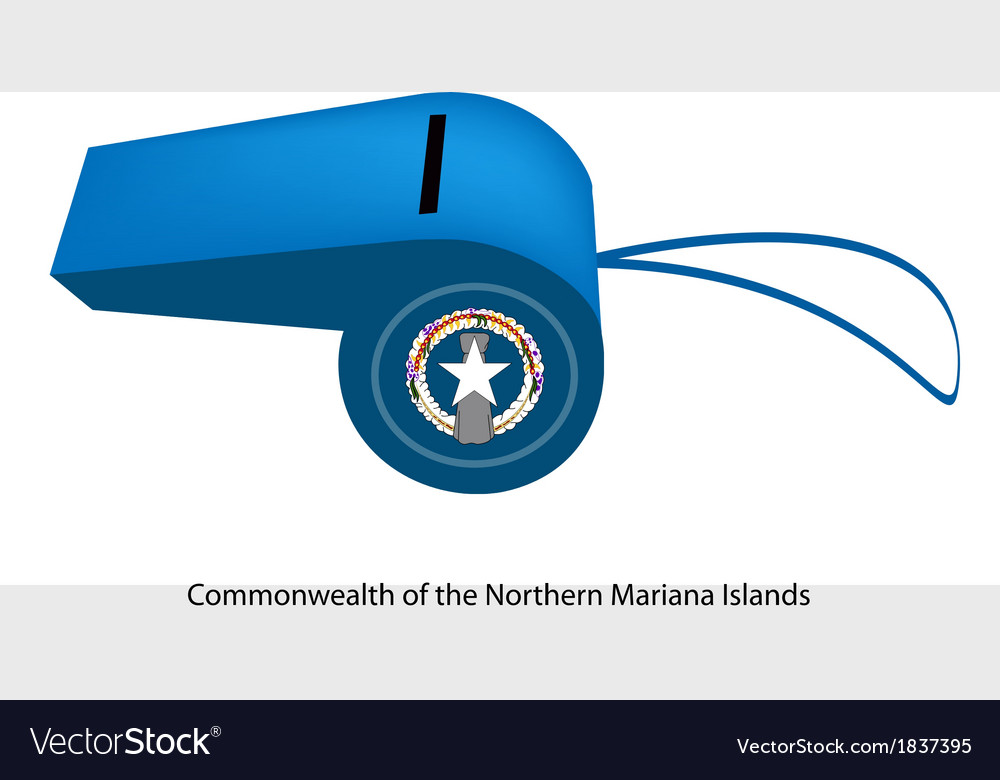 A whistle of the northern mariana islands vector | Price: 1 Credit (USD $1)