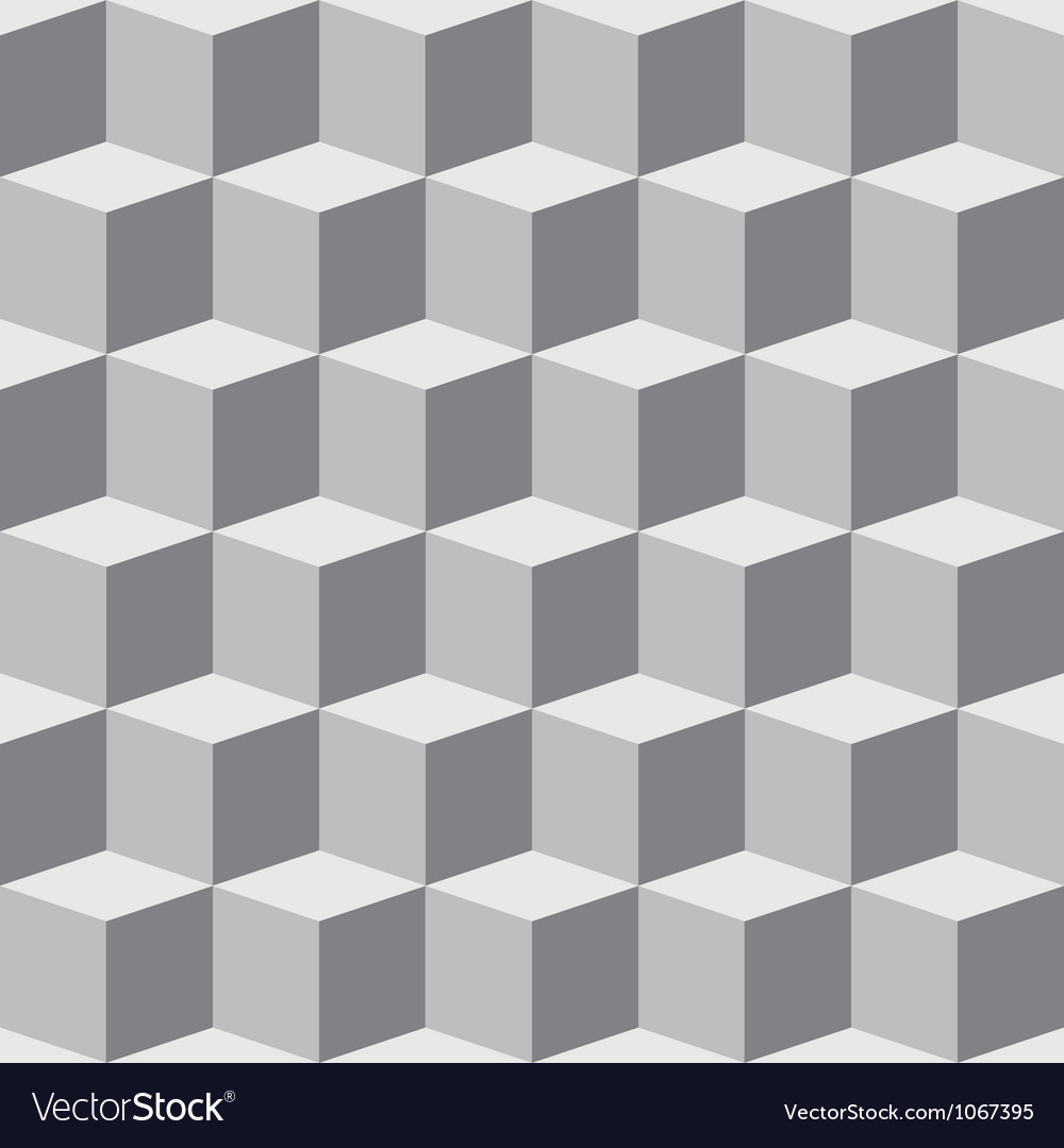 Cube pattern vector | Price: 1 Credit (USD $1)