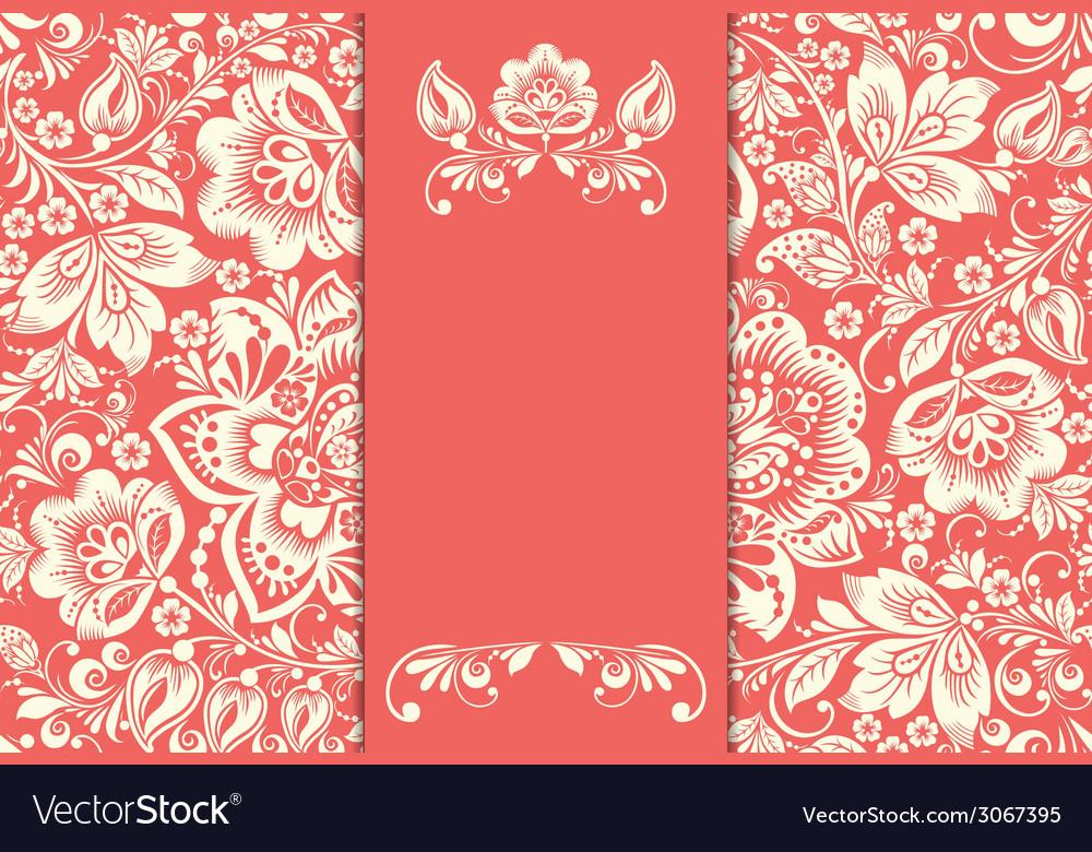 Wedding invitation cards vector | Price: 1 Credit (USD $1)