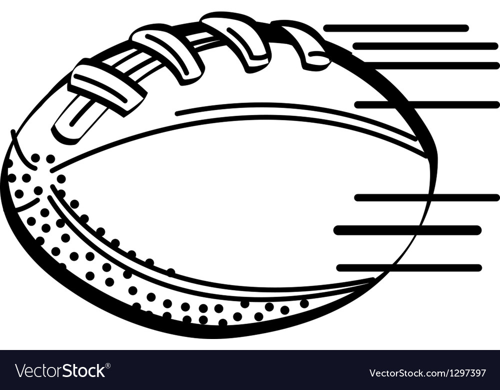 American football vector | Price: 1 Credit (USD $1)