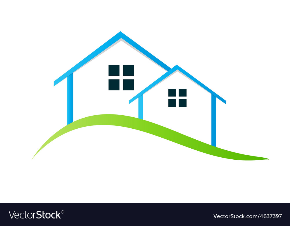 Houses logo vector | Price: 1 Credit (USD $1)