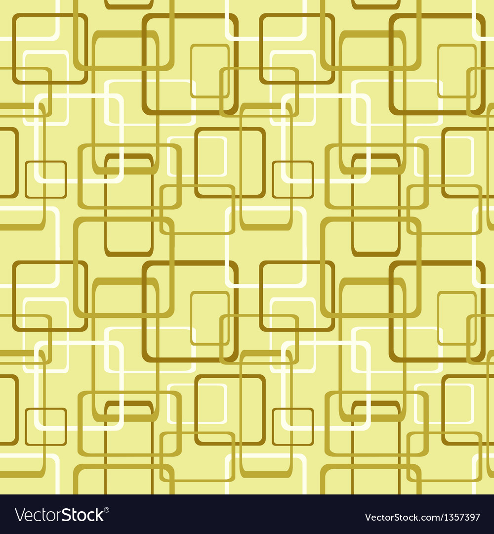 Seamless pattern with square and rectangle shapes vector | Price: 1 Credit (USD $1)