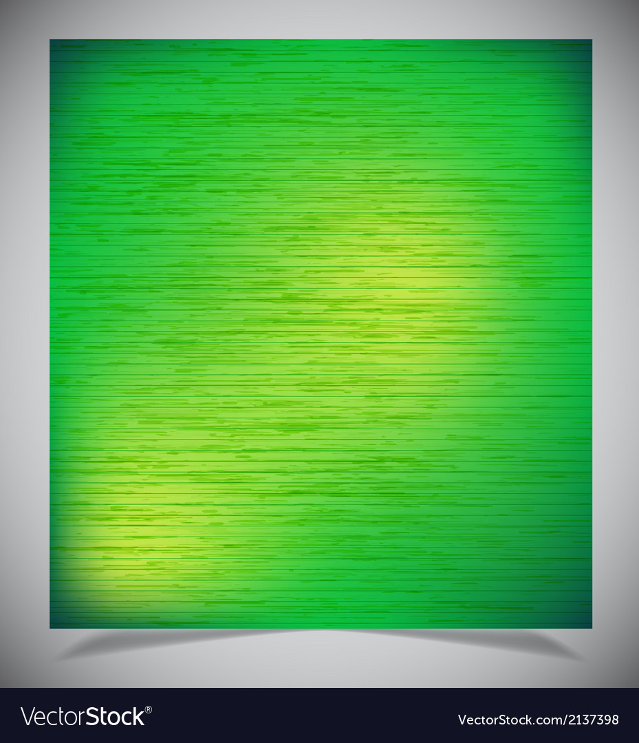Abstract green wood background vector   Price: 1 Credit (USD $1)