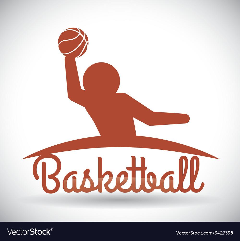 Basketball design vector | Price: 1 Credit (USD $1)