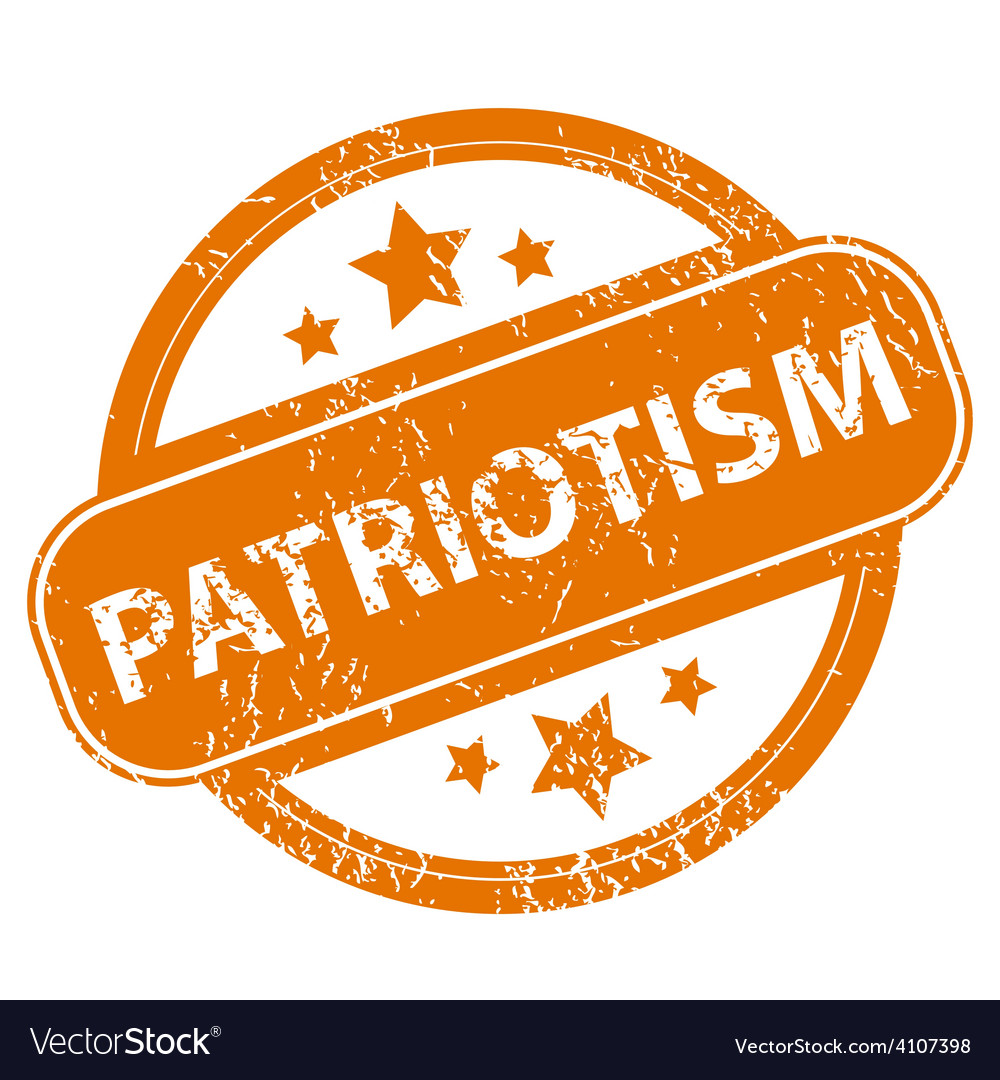 Patriotism grunge icon vector | Price: 1 Credit (USD $1)