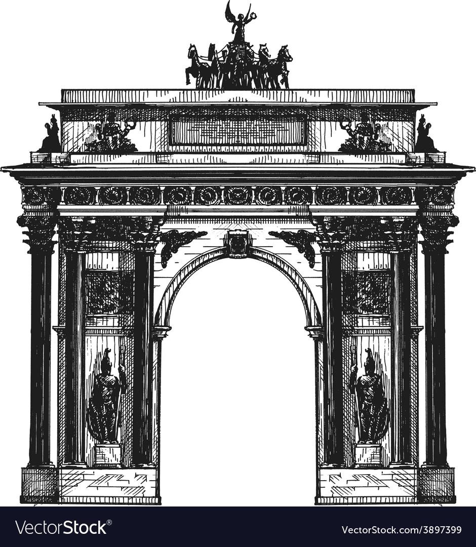 Germany logo design template berlin or vector | Price: 1 Credit (USD $1)