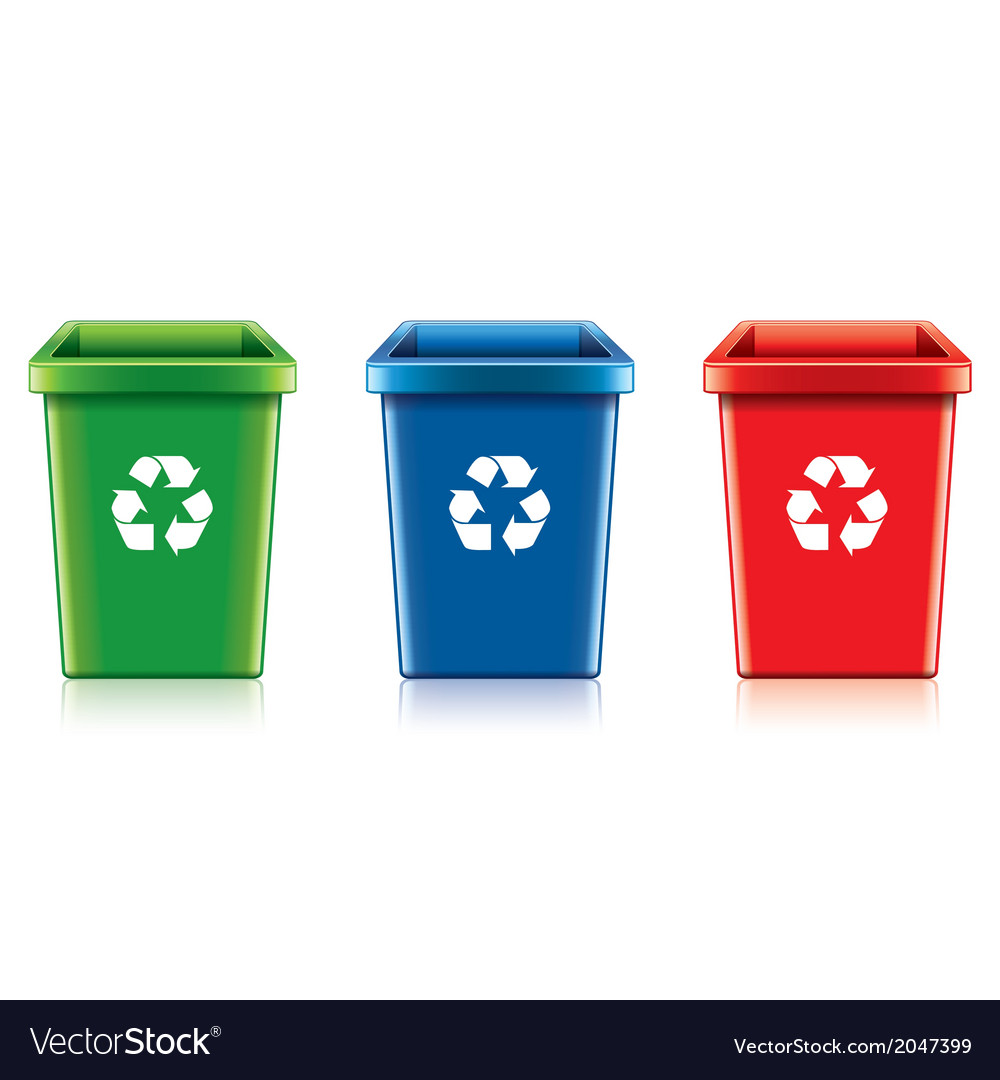 Object eco recycling trash vector | Price: 1 Credit (USD $1)