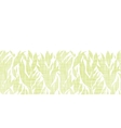 Green leaves textile texture horizontal seamless vector