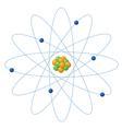 Atom structure vector