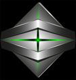 Abstract 3d logo template vector