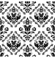Damask seamless pattern orient background vector