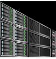 Computer servers vector