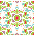 Floral damask seamless pattern background vector