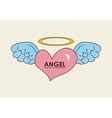 Angel design vector