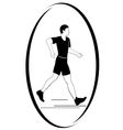 Athletics racewalking vector